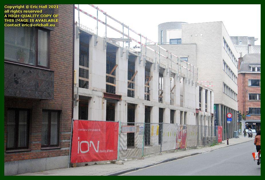 building site kapucijnenvoer zongang leuven belgium Eric Hall