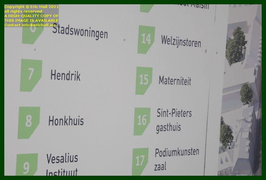 site plan sint pieters hospital brusselsestraat leuven belgium Eric Hall