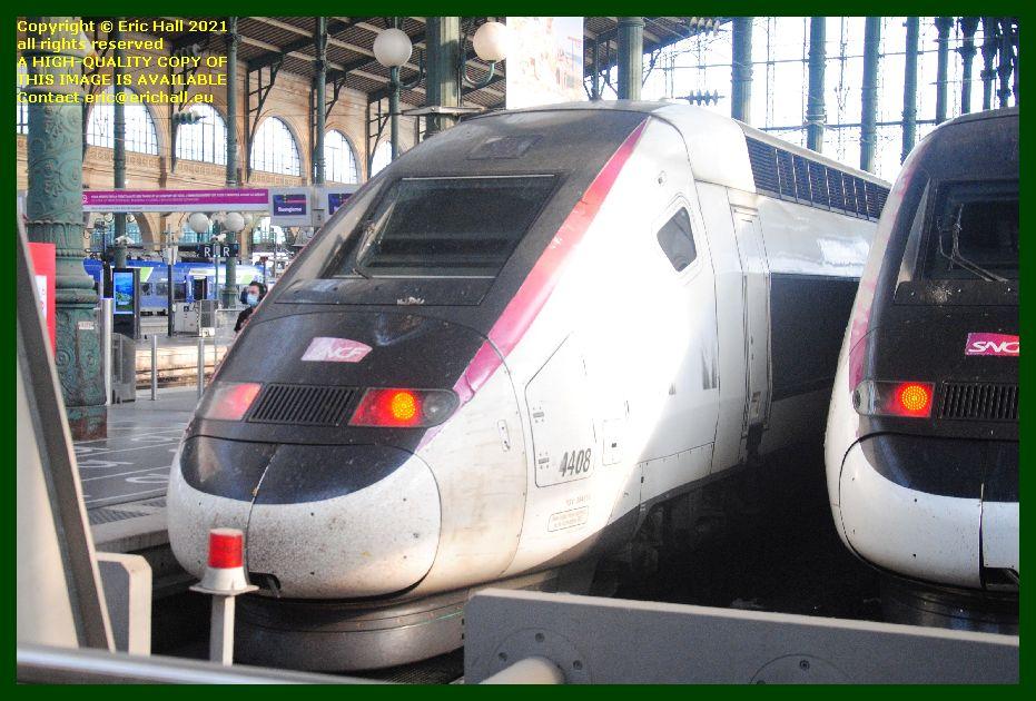 TGV POS 4408 gare du nord paris France Eric Hall