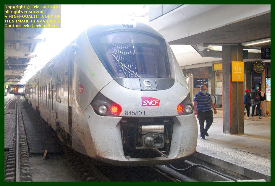84580 gec alstom regiolis gare montparnasse paris France Eric Hall