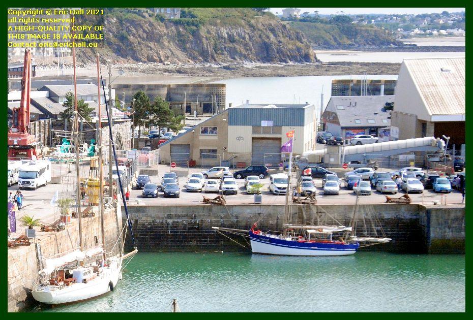 sailing boats port de Granville harbour Manche Normandy France Eric Hall