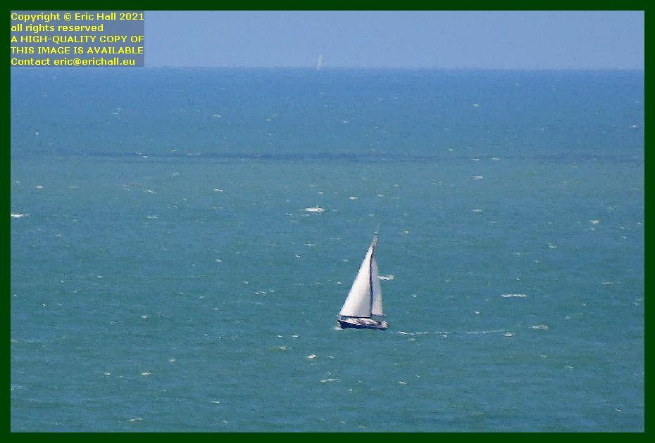 yachts baie de Granville Manche Normandy France Eric Hall