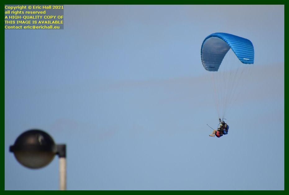 hang glider pointe du roc Granville Manche Normandy France Eric Hall