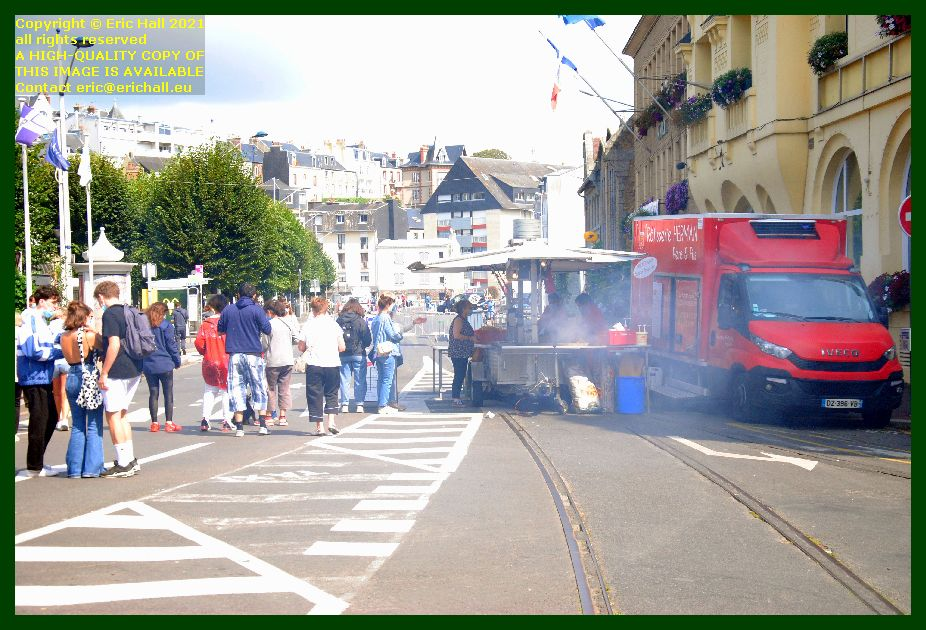 barbecue place general de gaulle Granville Manche Normandy France Eric Hall