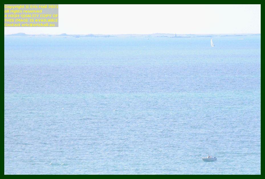 yachts ile de chausey baie de Granville Manche Normandy France Eric Hall