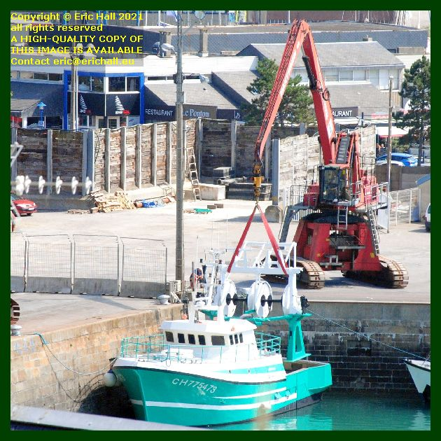 charlevy port de Granville harbour Manche Normandy France Eric Hall