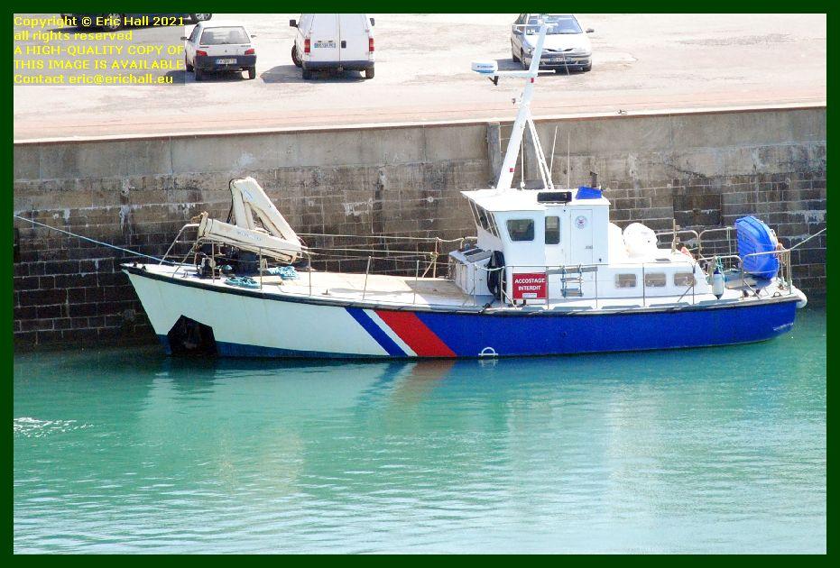 Les Epiettes port de Granville harbour Manche Normandy France Eric Hall