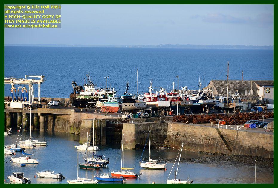 chantier naval port de Granville harbour Manche Normandy France Eric Hall