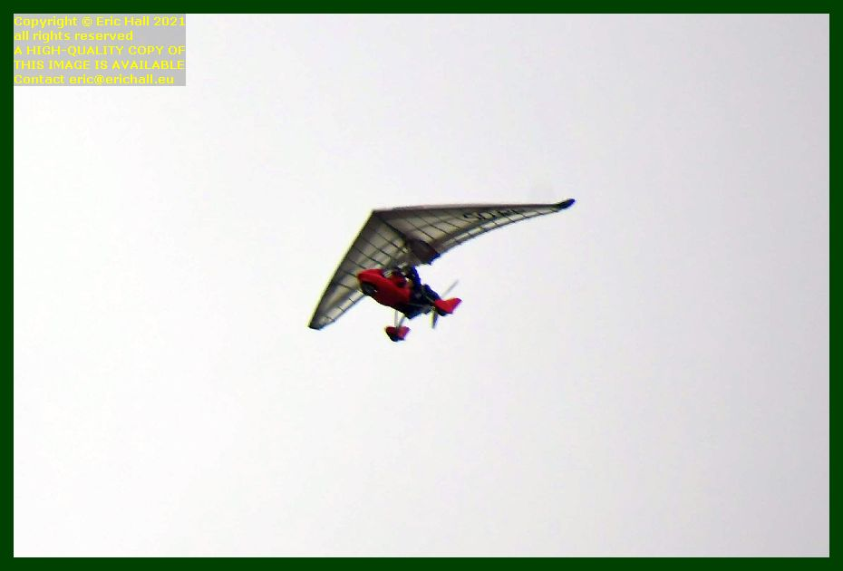 ulm microlight powered hang glider pointe du roc Granville Manche Normandy France Eric Hall