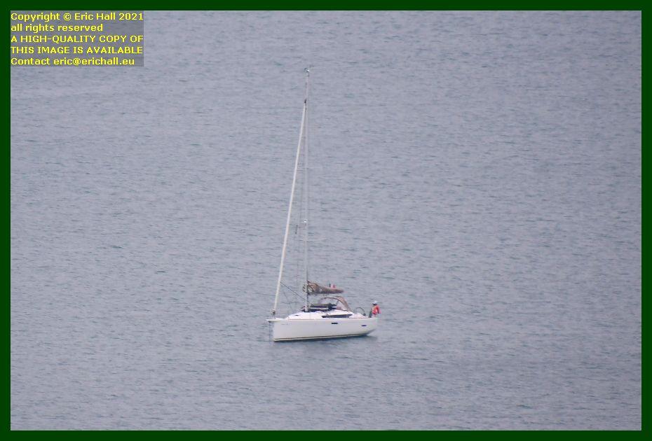 yacht baie de Granville Manche Normandy France Eric Hall