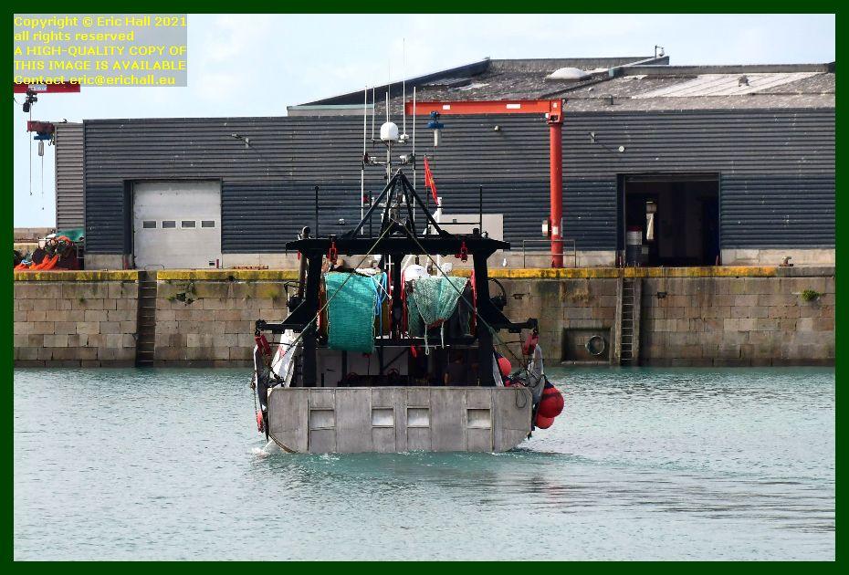 black pearl port de Granville harbour Manche Normandy France Eric Hall