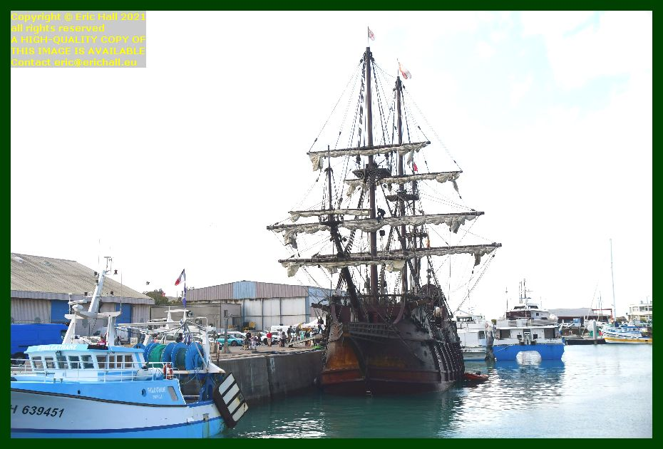 philcathane galeon andalucia granville victor hugo port de Granville harbour Manche Normandy France Eric Hall