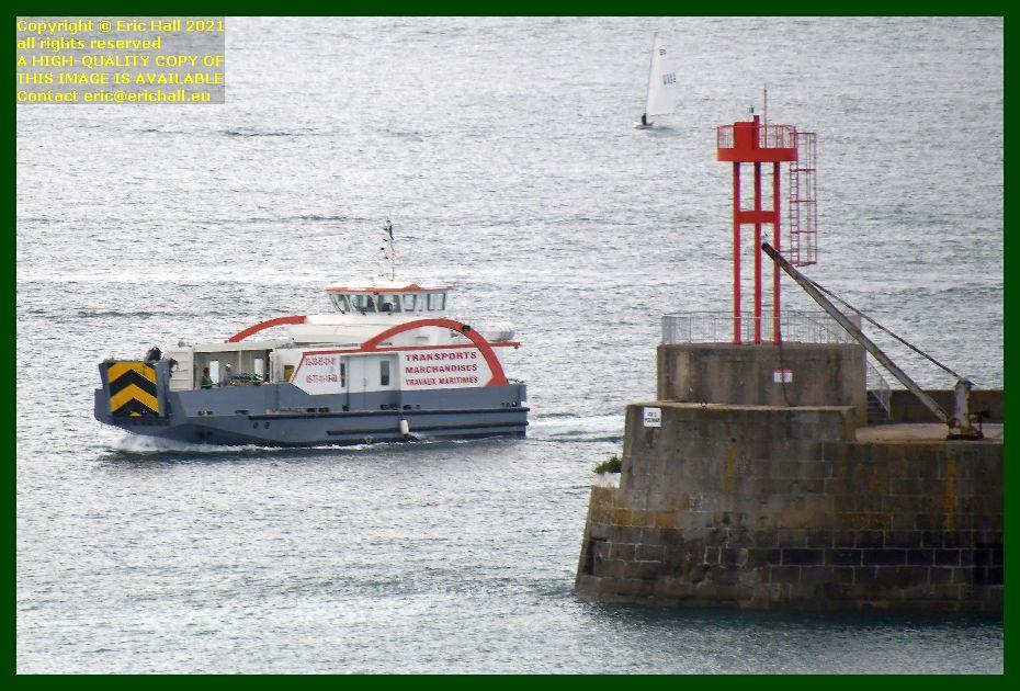 chausiaise entering port de Granville harbour Manche Normandy France Eric Hall