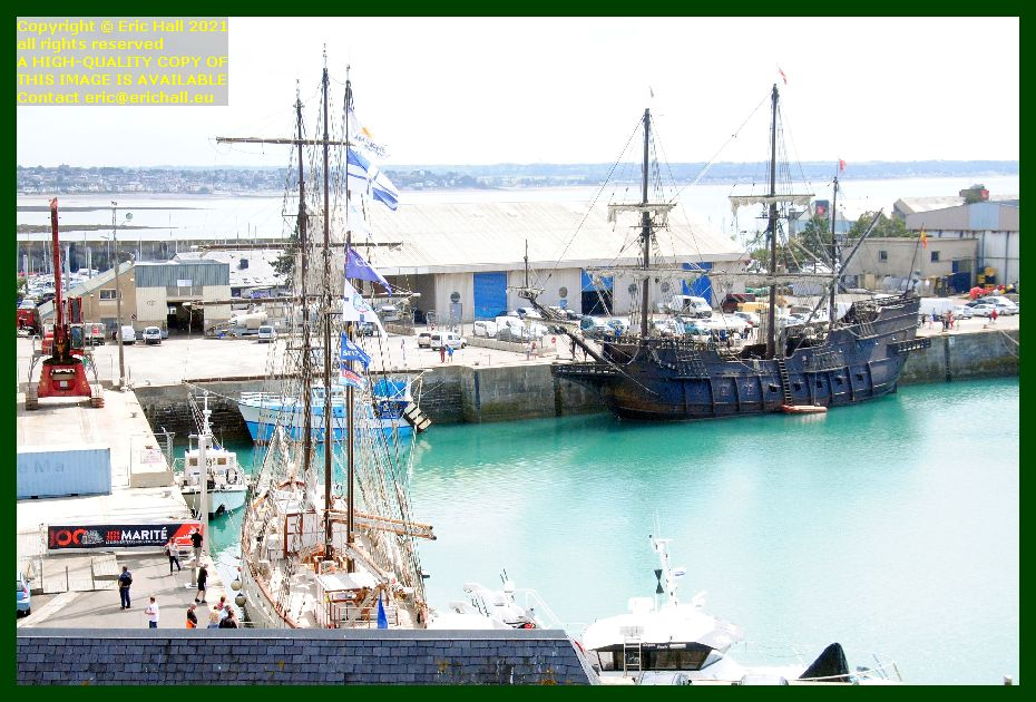 marite philcathane galeon andalucia port de Granville harbour Manche Normandy France Eric Hall