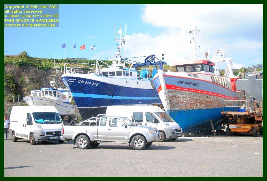 briscard pierre de jade catherine philippe chantier naval port de Granville harbour Manche Normandy France Eric Hall