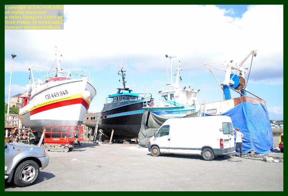 peccavi unknown saint andrews chantier naval port de Granville harbour Manche Normandy France Eric Hall