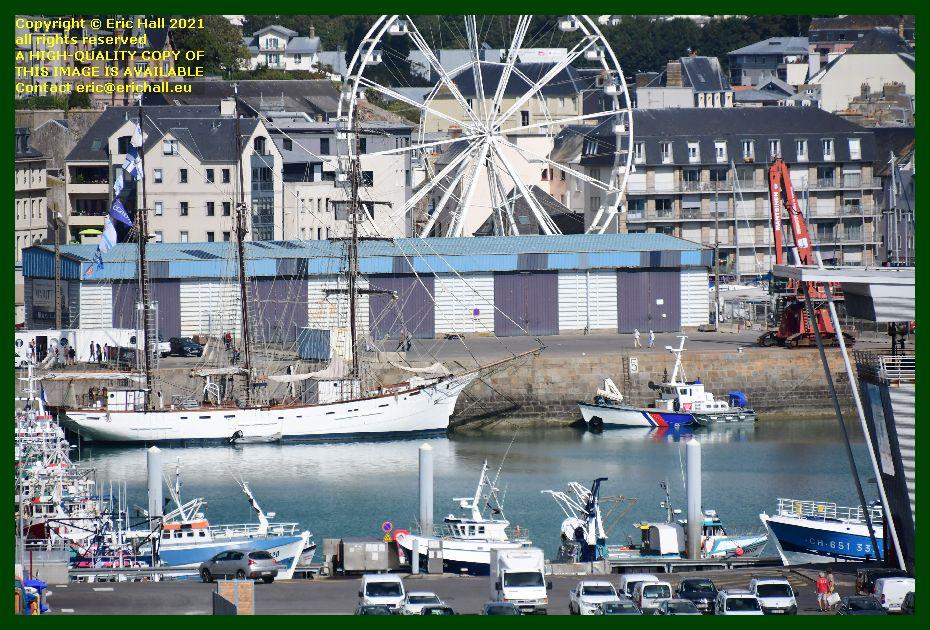 marite les epiettes port de Granville harbour Manche Normandy France Eric Hall
