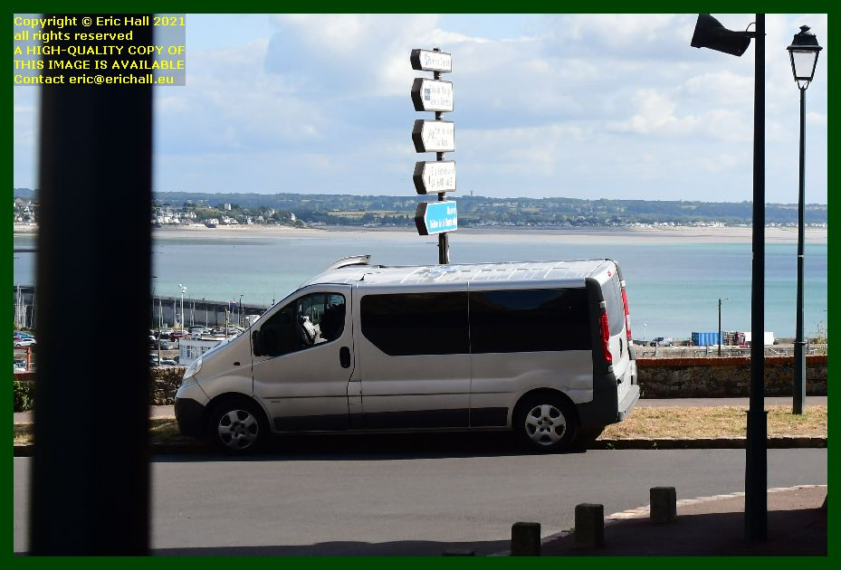 bad parking boulevard vaufleury Granville Manche Normandy France Eric Hall
