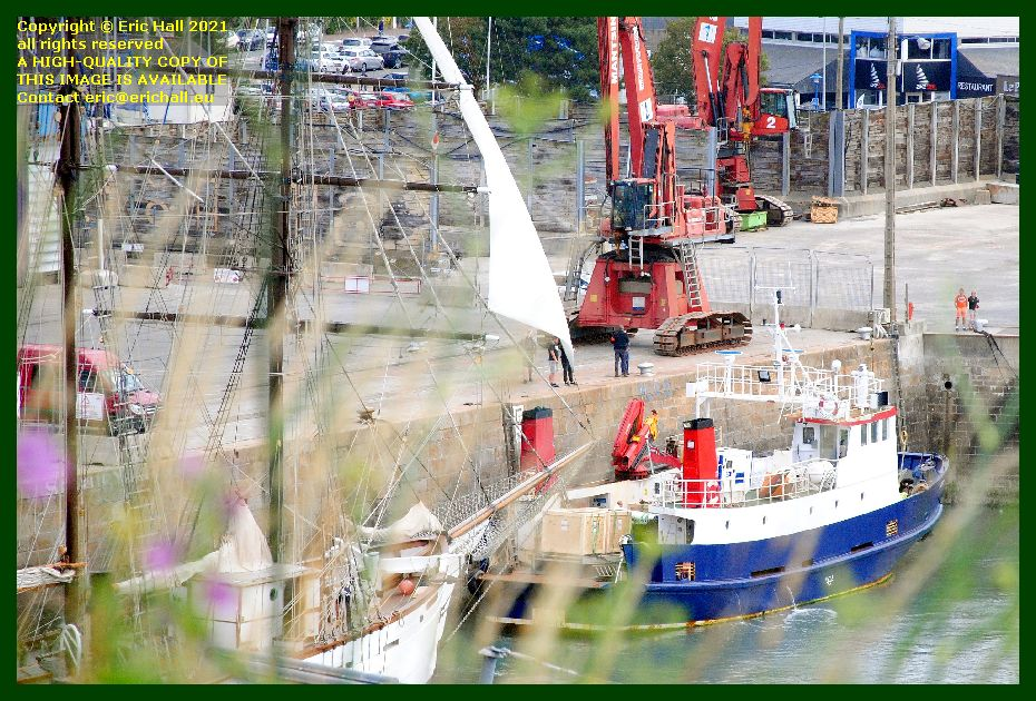 thora marite port de Granville harbour Manche Normandy France Eric Hall photo September 2021