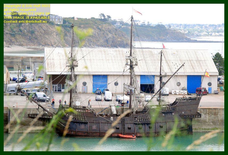 galeon andalucia port de Granville harbour Manche Normandy France Eric Hall photo September 2021