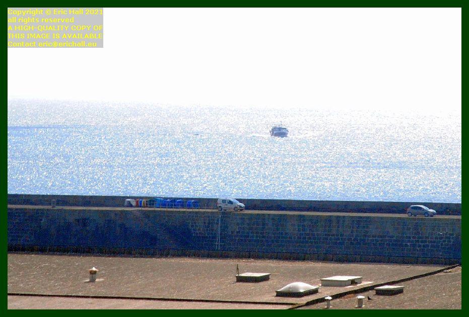 trawler returning to port de Granville harbour Manche Normandy France Eric Hall photo September 2021