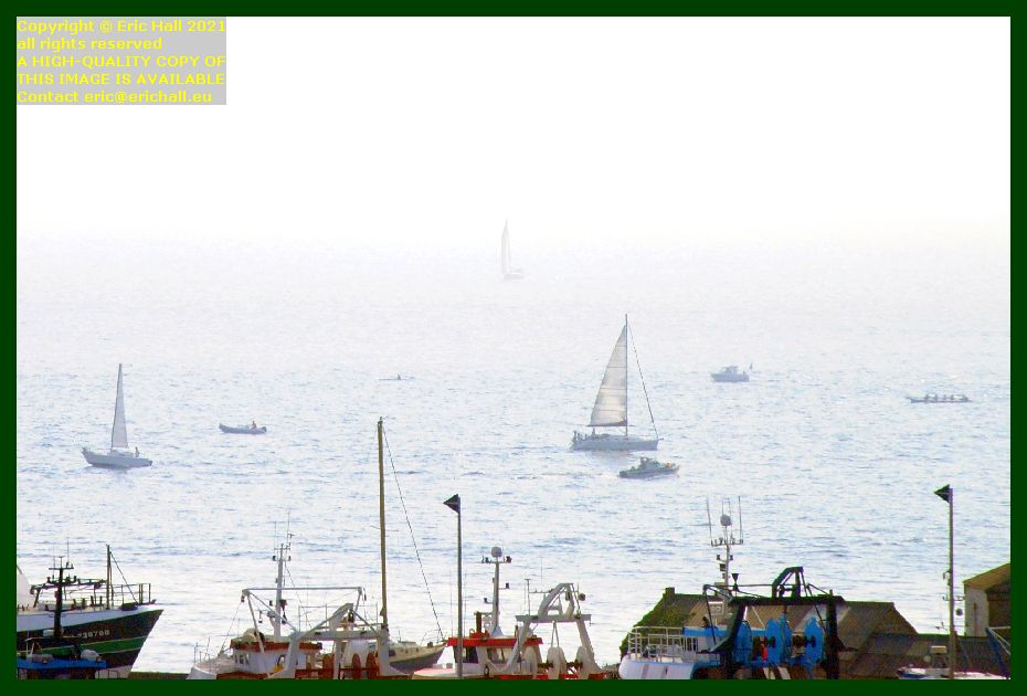boats in baie de mont st michel Granville Manche Normandy France Eric Hall photo September 2021