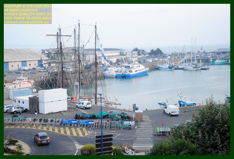marite chausiaise galeon andalucia granville victor hugo port de Granville harbour Manche Normandy France Eric Hall photo September 2021