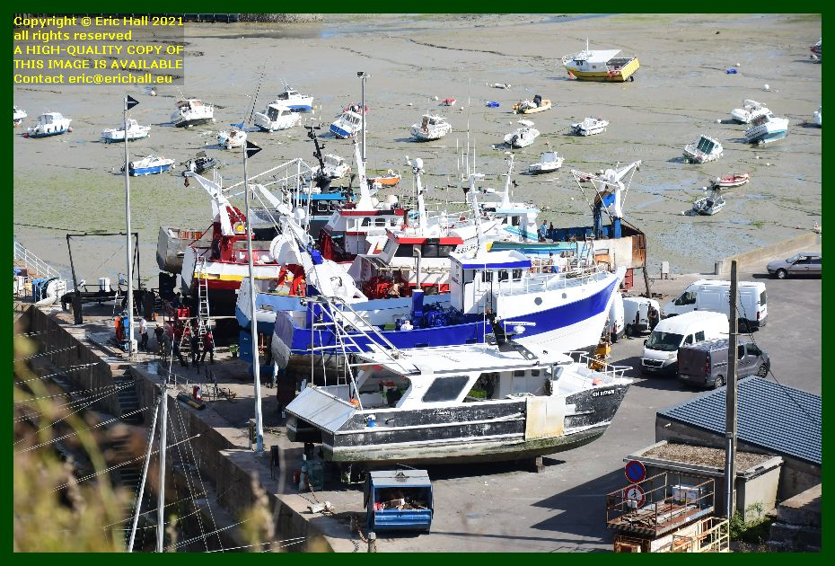 l'omerta fishing boat massabielle trawler chantier naval port de Granville harbour Manche Normandy France Eric Hall photo September 2021