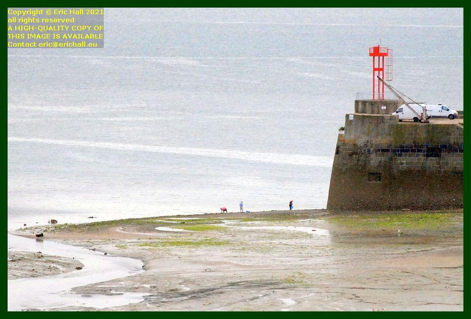 peche a pied port de Granville harbour Manche Normandy France Eric Hall photo September 2021