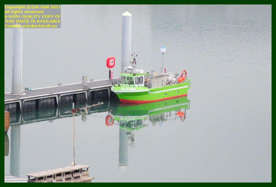 new fishing boat port de Granville harbour Manche Normandy France Eric Hall photo September 2021