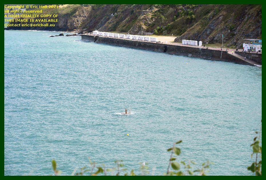 diving platform plat gousset Granville Manche Normandy France Eric Hall photo September 2021