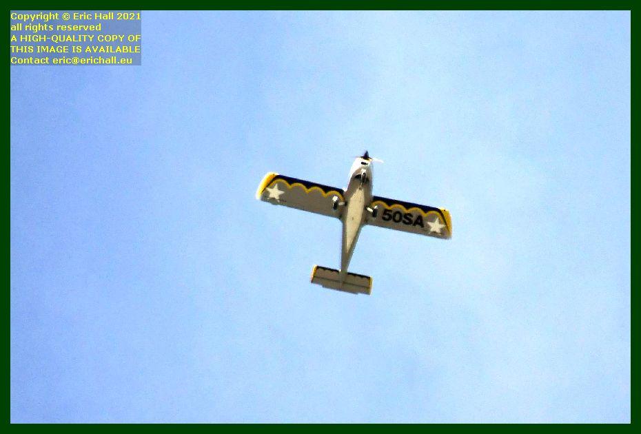 50sa aeroplane pointe du roc Granville Manche Normandy France Eric Hall photo September 2021