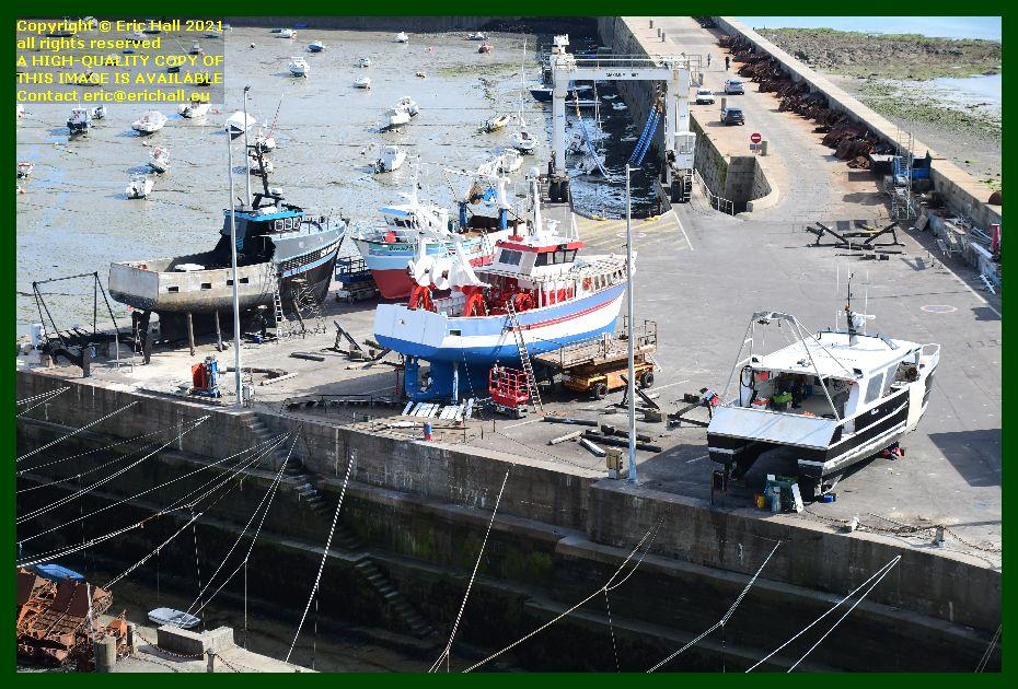 saint andrews catherine philippe l'omerta chantier naval port de Granville harbour Manche Normandy France Eric Hall photo September 2021