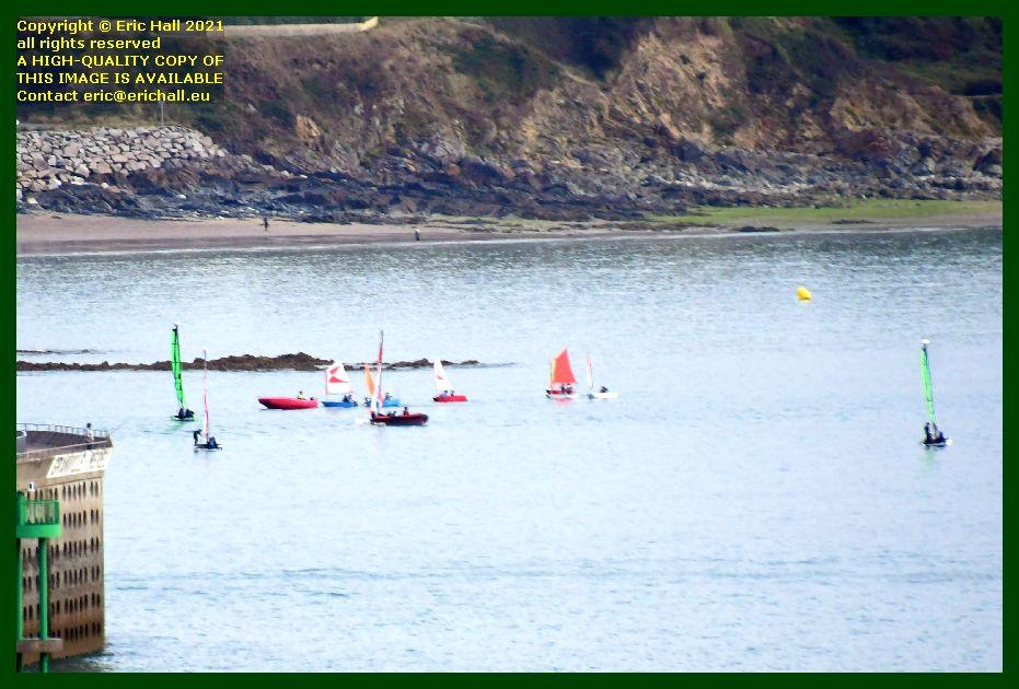 sailing school baie de mont st michel Granville Manche Normandy France Eric Hall photo September 2021