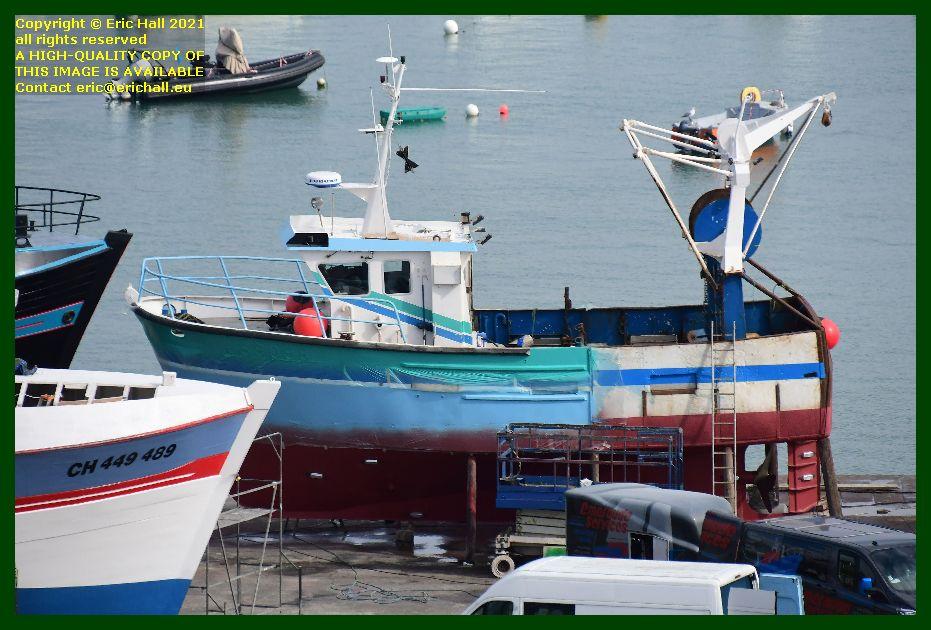 saint andrews chantier naval port de Granville harbour Manche Normandy France Eric Hall photo September 2021