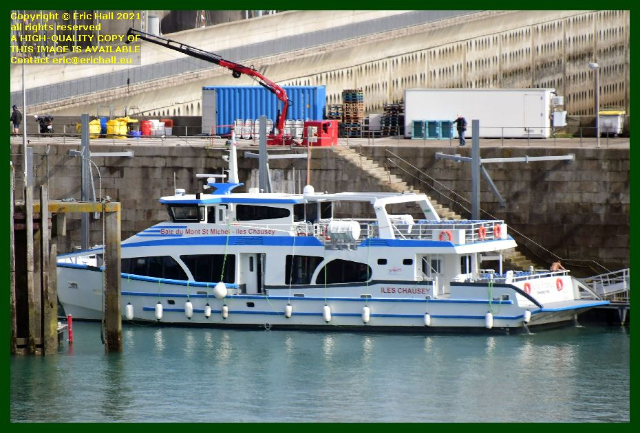 belle france ferry terminal port de Granville harbour Manche Normandy France Eric Hall photo September 2021