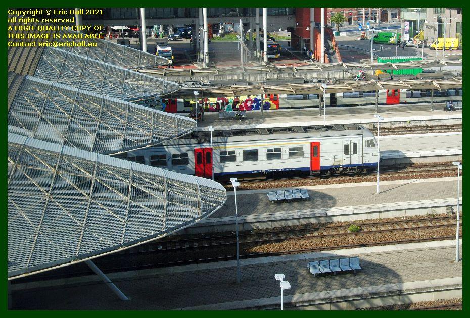 am80 multiple unit gare de Leuven railway station Belgium photo Eric Hall September 2021
