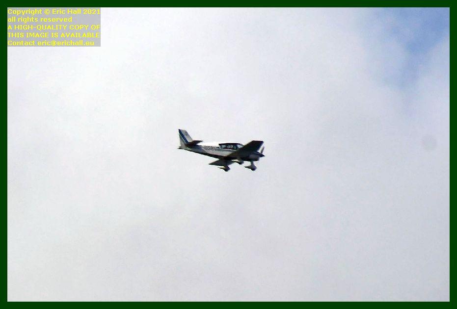 f-gsbv Robin DR400 180 pointe du roc Granville Manche Normandy France Eric Hall photo September 2021