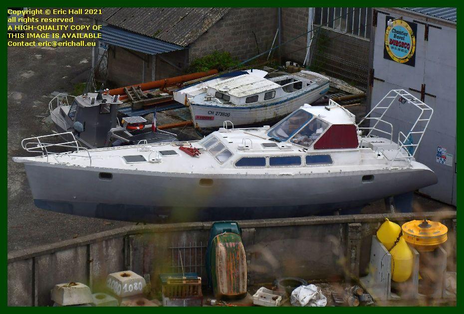 yacht chantier naval port de Granville harbour Manche Normandy France Eric Hall photo September 2021