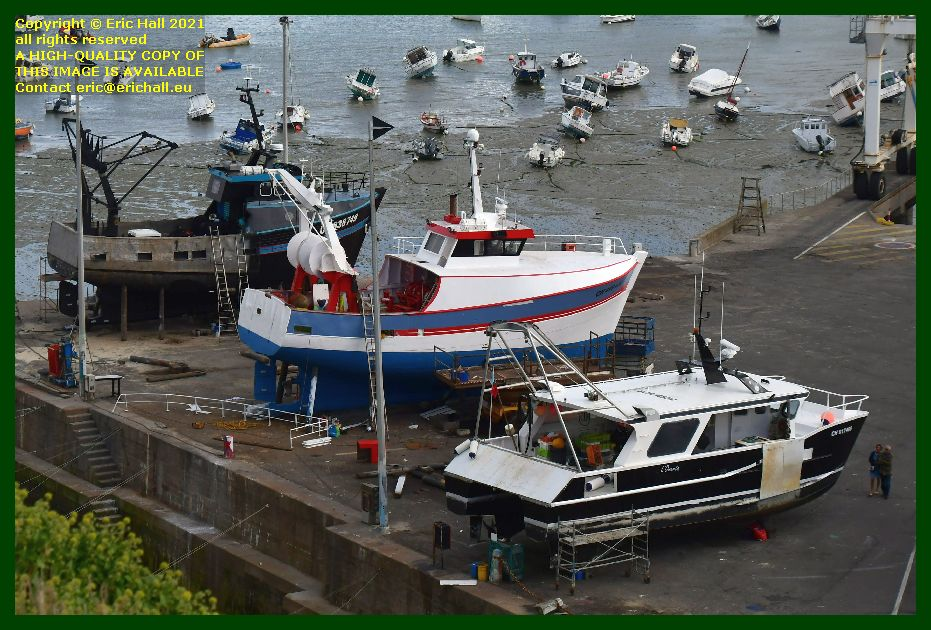 catherine philippe l'omerta chantier naval port de Granville harbour Manche Normandy France Eric Hall photo September 2021