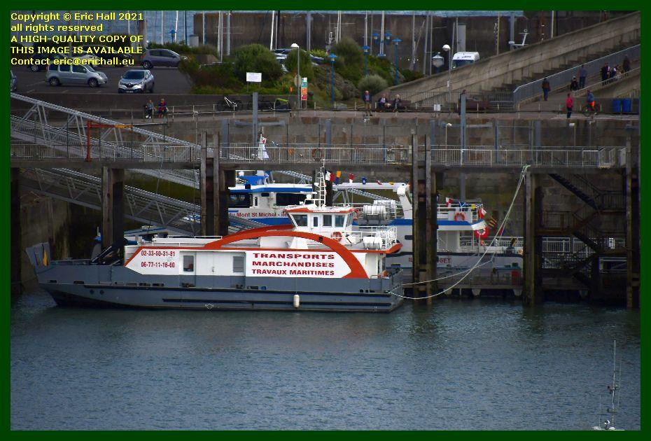 chausiaise belle france ferry terminal port de Granville harbour Manche Normandy France Eric Hall photo September 2021
