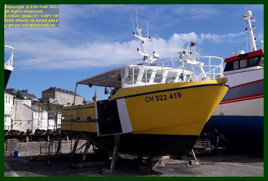 cherie d'amour chantier naval port de Granville harbour Manche Normandy France Eric Hall photo September 2021