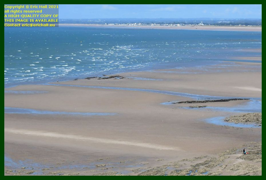 whitecap waves people on beach rue du nord Granville Manche Normandy France Eric Hall photo September 2021