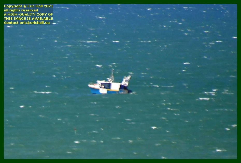 fishing boat baie de Granville Manche Normandy France Eric Hall photo September 2021