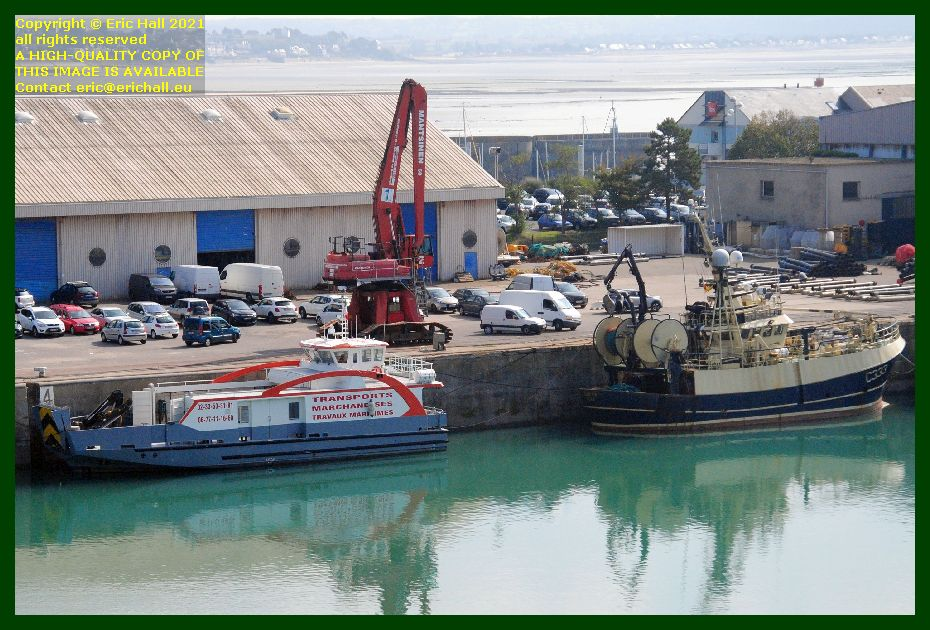 chausiaise buddy m port de Granville harbour Manche Normandy France Eric Hall photo September 2021