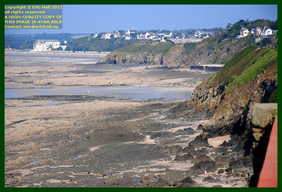 beach plat gousset Granville donville les bains Manche Normandy France Eric Hall photo September 2021