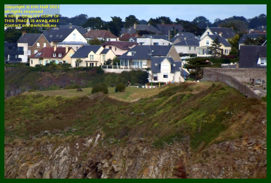 launching site for hang gliders Granville Manche Normandy France Eric Hall photo September 2021