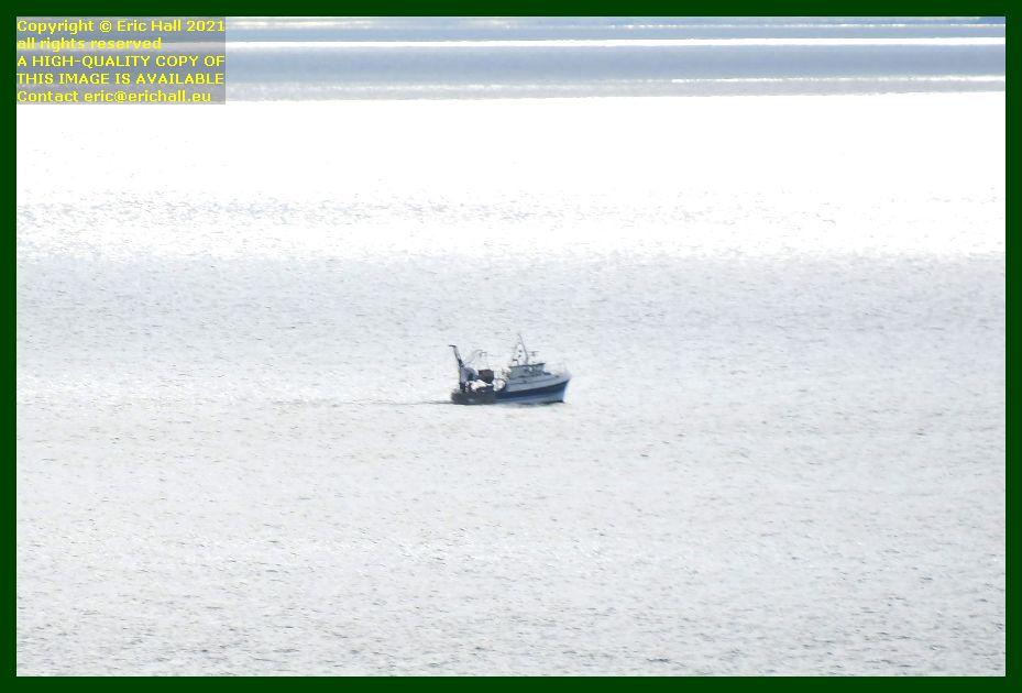 trawler baie de mont st michel Granville Manche Normandy Eric Hall photo September 2021