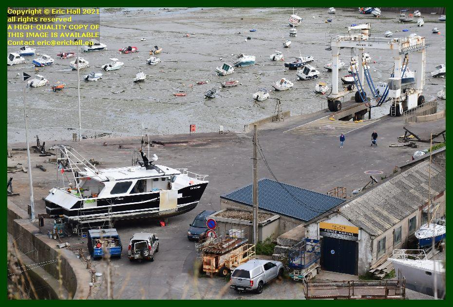 l'omerta chantier naval port de Granville harbour Manche Normandy France Eric Hall photo September 2021