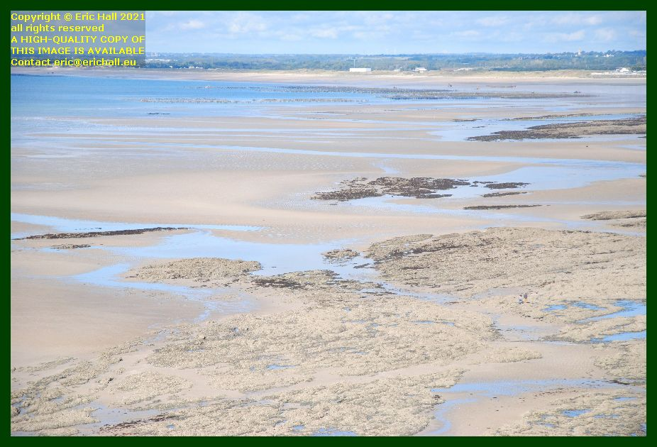 bouchots donville les bains people on beach rue du nord Granville Manche Normandy France Eric Hall photo September 2021